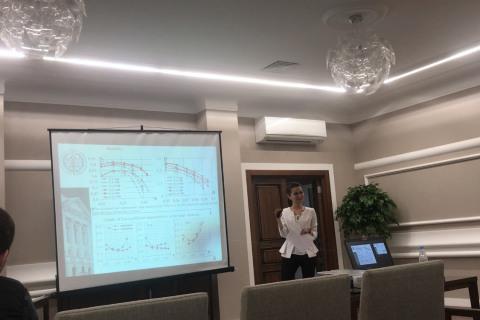 科学与工程中心的专家L.V.吉列娃 在国际能源,环境与建筑工程科学会议(EECE-2018)的流体动力学环节致辞