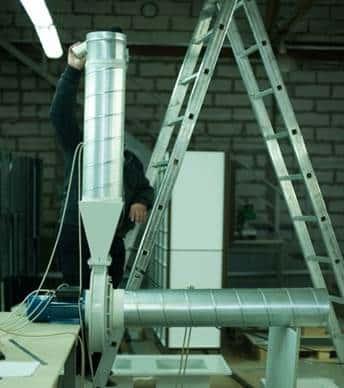 用于侵蚀性气体的特殊风扇计算,设计和 测试