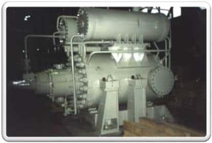 示例:最终压力为12.3 MPa的五级增压器 108-51-1。 (用于天然气工业的新一代压 缩机。圣理工KViHT教研室的气动项目。