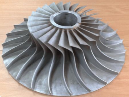 Осерадиальное центробежное колесо
