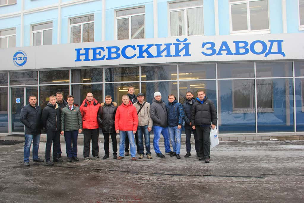 来自RN-Vankor 公司的学员在Nevsky Zavod- REPH公司