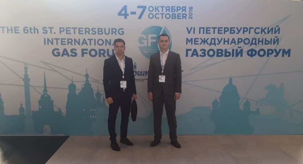 R. Shalaputov和V. Vostrikov学生-俄罗斯天 然气工业股份公司的人员储备