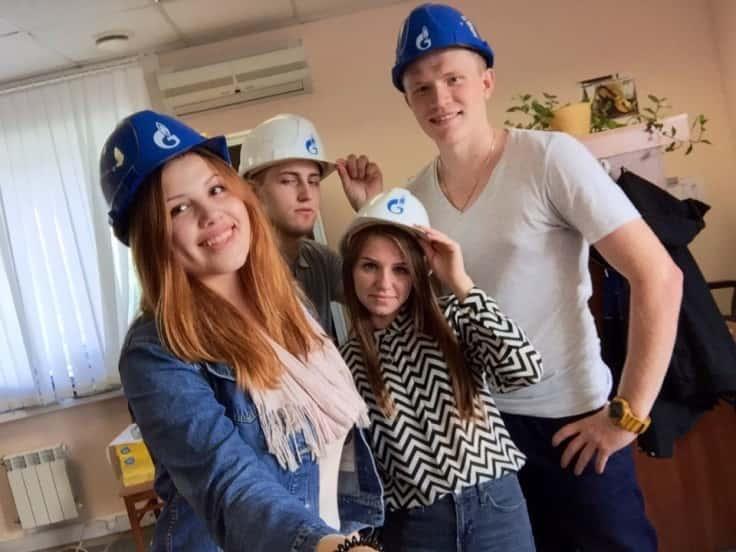 在俄罗斯天然气工业股份公司transgaz(圣 彼得堡)实习
