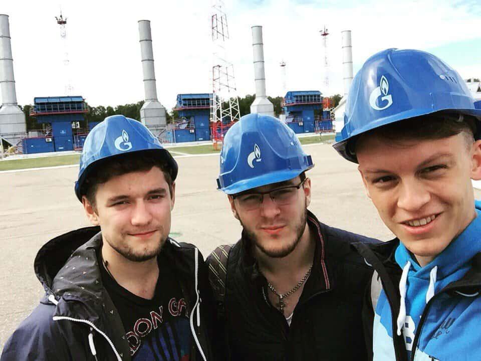 在俄罗斯天然气工业股份公司 transgaz Yugorsk实习