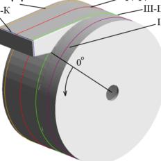 空气接收器的气体动力学流动研究和三维计算机模拟,及其流动部分几何尺寸的确定