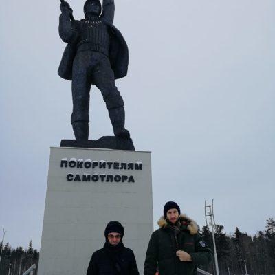 Yu.V.工作訪問 科茹霍娃和 S.V. 卡爾塔紹夫到下瓦爾托夫斯克。